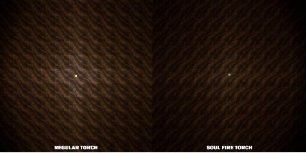 comparacion de las antorchas