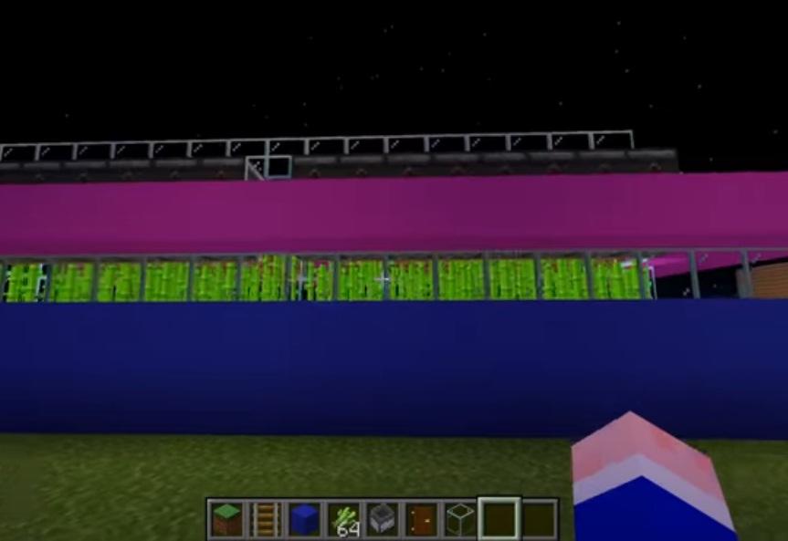granja de caña en minecraft